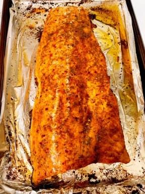 Salmon Filet - Whole - Jerk